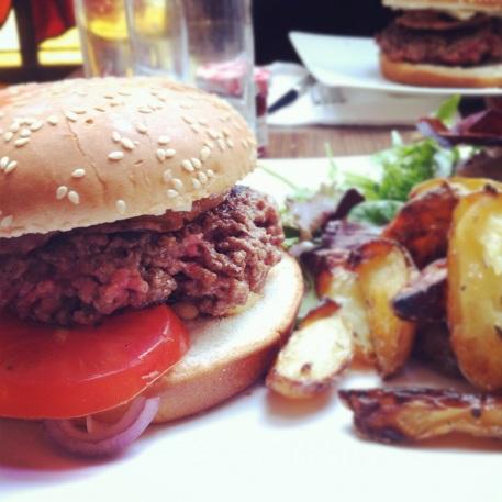 breakfast in America, one of the best burgers in Paris