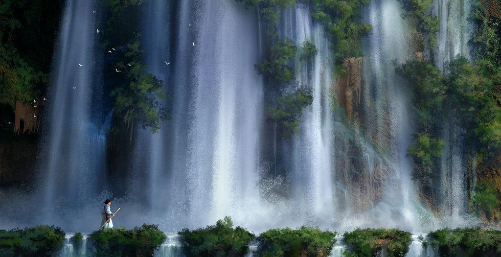 waterfall2_by_weynejin-d61kpgc